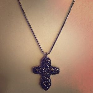 Brighton cross necklace